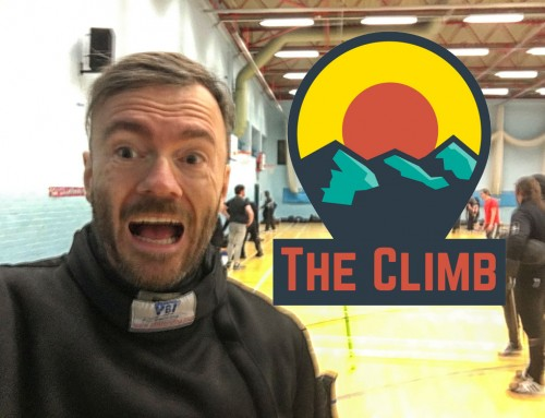 The Rollercoaster of Life – The Climb #16