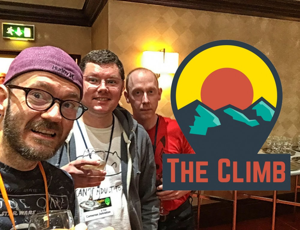 The Drunken Ramblings of A Man At Eastercon – The Climb #83