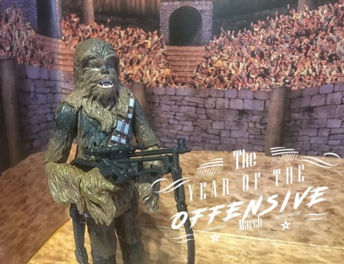 The Year Of The Offensive – March