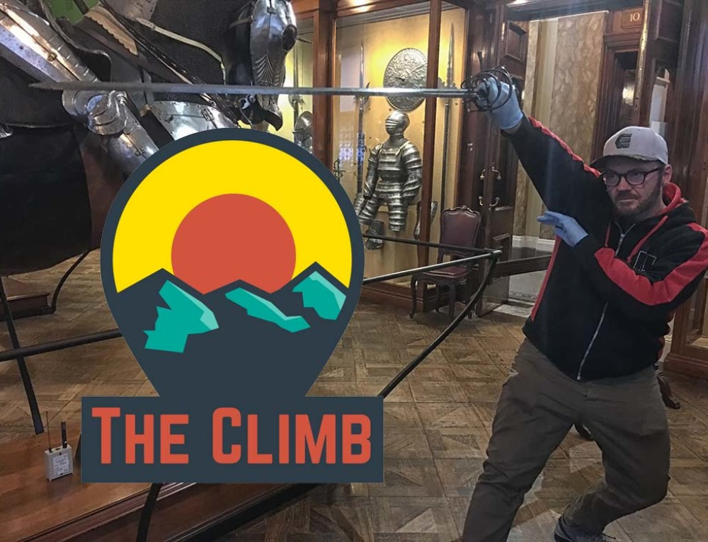 Playing With 500 Year Old Swords – The Climb #319