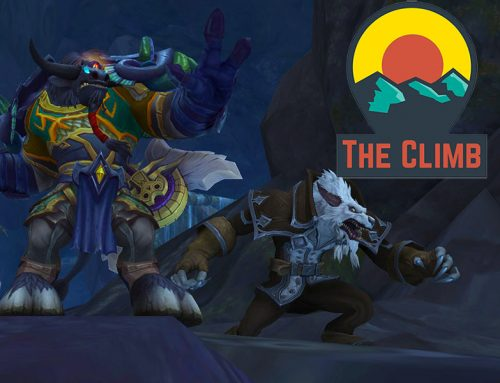 The Great Leveling Push – The Climb #411