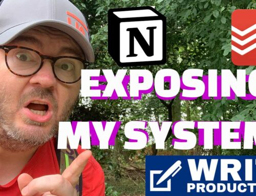 WRITE PRODUCTIVELY – A Look At My System