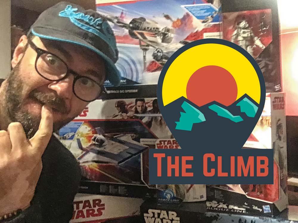 I Bought A Load Of Star Wars Stuff – The Climb #317