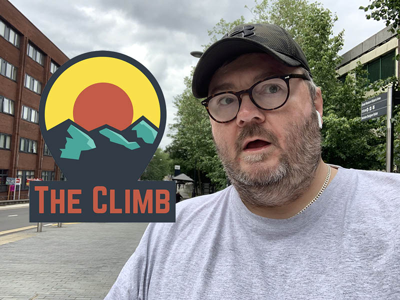 Adrian, The Grumpy Pokemon – The Climb #926